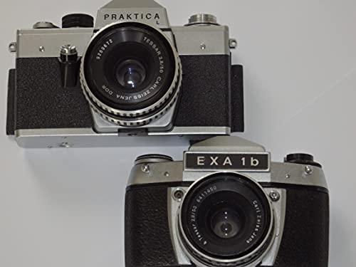 PRAKTICA L mit Objektiv TESSAR 2.8/50 und EXA 1B mit Objektiv TESSAR 2.8/50 Carl ZEISS JENA