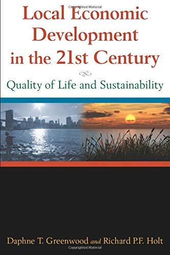 Local Economic Development in the 21st Century: Quality...