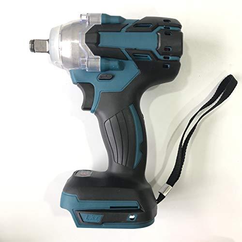 520nm 18v llave de impacto eléctrica recargable sin escobillas sin cuerda 1/2 llave de enchufe herramienta eléctrica para batería universal