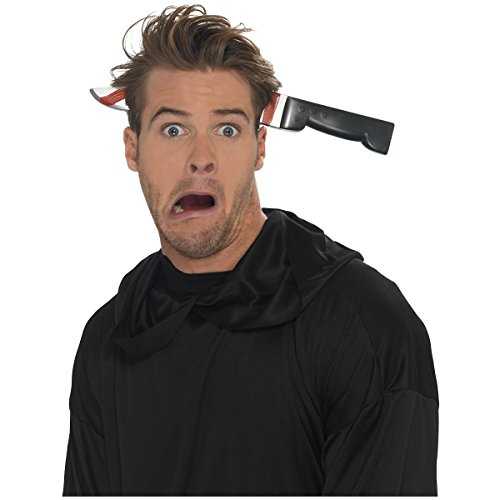 Knife Through Head Headband Costume Accessory