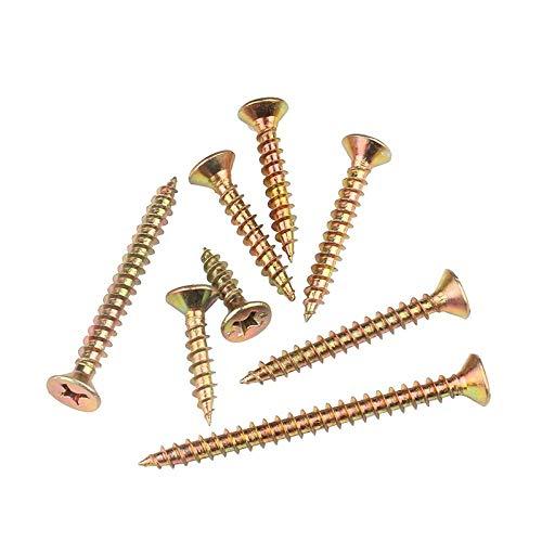 Zelfsnijdende schroeven, verzonken kop, schroeven, sneltand, droogbouwschroeven, houtschroeven voor verlengde wandpanelen, vezelspijkers M3.5 * 16