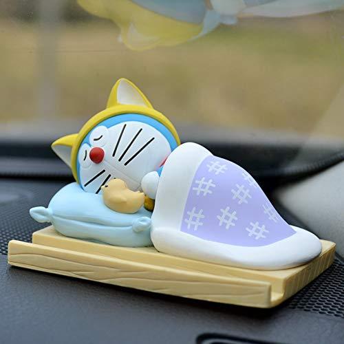 Dhl Animado Doraemon Soporte for teléfono decoración del Coche de la Pluma