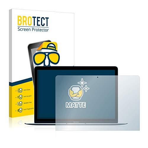 BROTECT 2X Entspiegelungs-Schutzfolie kompatibel mit Apple MacBook 12