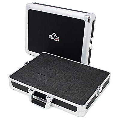 Gorilla GC-SDJC Small Universal DJ Controller, Mixer, Microphone, Photography Pick & Fit Foam Flight Case inc Lifetime Warranty