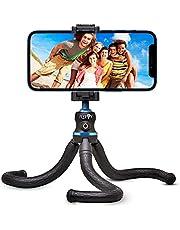 Flyroy | Treppiede Smartphone |Tripod Smartphone Phone Holder | Cavalleto Telefono Cellulari | Supporto Treppiedi Octopus Regolabile e Snodabile|Adatto per Fotocamera,Iphone e ogni tipo di Cellulare