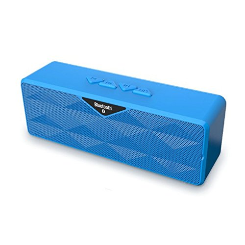 Best Prices! Exkokoro(TM)WaterCube Plus 360 Surround Sound Portable Wireless Line-In Bluetooth Speak...