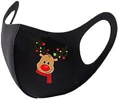 【iMakCC】Reusable Face_Mask Cottons Printed Facial Decorations Bandanas Funny Halloween decorations Christmas Colorful...