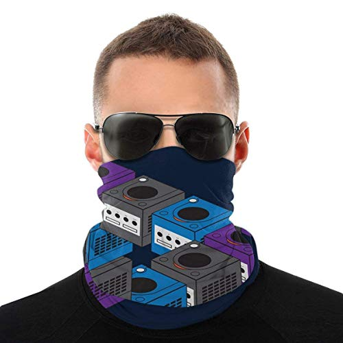 Night-Shop Forever Gaming Game Cube Variety Head Scarf Face Cover Magic Headwear Neck Gaiter Face Bandana Scarf