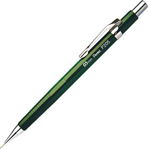 Lapiseira Pentel Sharp P200 0.5Mm Verde, Pentel, Sm/P205-D, Verde
