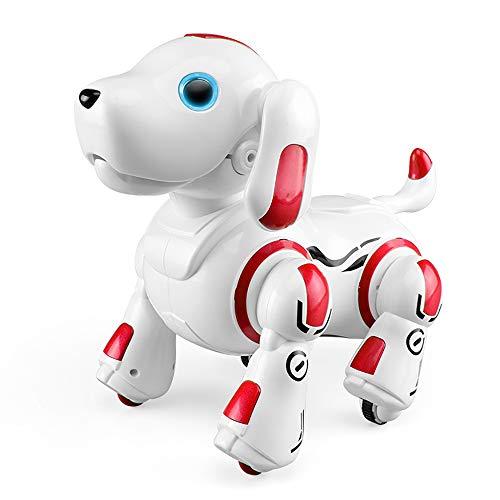 ロボット おもちゃ 犬 電子ペット ロボットペット 最新版ロボット犬 子供のおもちゃ 男の子 女の子おもちゃ 誕生日 子供の日 クリスマスプレゼント「日本語の説明書付き」