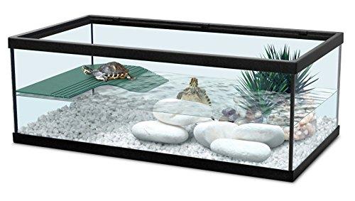 Zolux 55 Noir - Acuario para tortugas de agua (incluye...