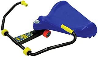 Roller Racer Blue Sport Model ~ Made in USA by Mason Corporation by PE Teachers & Kids for Active Fun | Completely Assembled with RamsHorn Safety Handlebars for Group Games