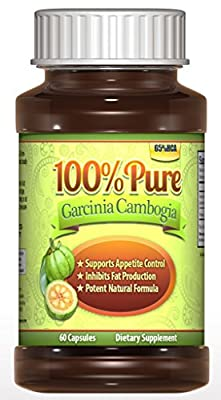 (?) #1 Premium Garcinia Cambogia Extract, Money Back Guarantee!, (No Added Calcium), Only Clinincally Proven Weight Loss, 3000MG Daily Servings, Diet Pills, 65% HCA