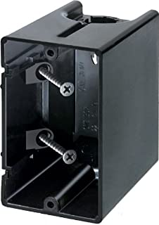 Arlington Industries F101 1-Gang Vertical Outlet Side Mount Box, 50-Pack