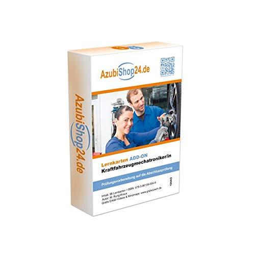 Kraftfahrzeugmechatroniker KFZ Mechatroniker ADD ON Lernkarten: Prüfungsvorbereitung KFZ Prüfung KFZ Lernkarten