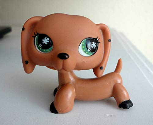 Lippis Pet Brown Monopoly Spotted Dachshund Dog Snowflake Eyes