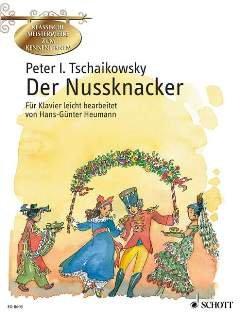 NUSSKNACKER SUITE OP 71A - arrangiert für Klavier [Noten / Sheetmusic] Komponist: TSCHAIKOWSKY PJOTR ILJITSCH aus der Reihe: KLASSISCHE MEISTERWERKE ZUM KENNENLERNEN
