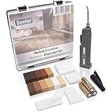 BENLER® NEU! - Holz Reparaturset mit 2in1 Wachsschmelzer für Laminat