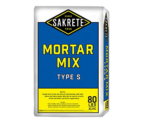 Sakrete Mortar/Stucco Mix Type S (50lb Pail)