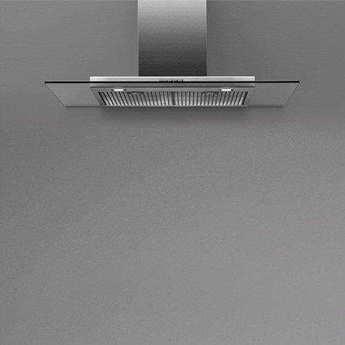 Falmec Kristal Inselhaube 90 cm