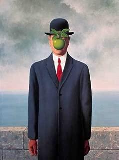 Son Of Man (Fils de l'Homme) by Rene Magritte 19.75 X 27.5 Art Print Poster