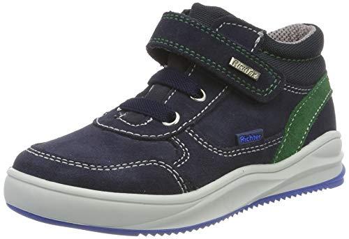 Richter Kinderschuhe Jungen Harry Hohe Sneaker, Blau (Atlantic/Turtle 7201), 28 EU