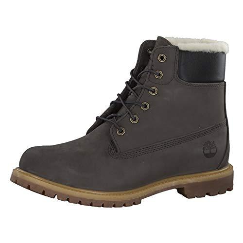 Timberland - Premium Damen-Stiefel, 6 Zoll, mit Wolle gefüttert, Grün - Tornado - Größe: 37 EU Large