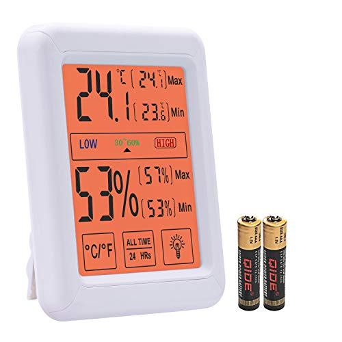 Estefanlo Digital Hygrometer Indoor Thermometer