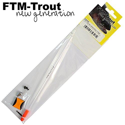 FTM New Generation Trout Set Ghost Stick 3g - zum Forellenangeln, Forellenpose zum Angeln auf Forellen, Forellenschwimmer, Pose