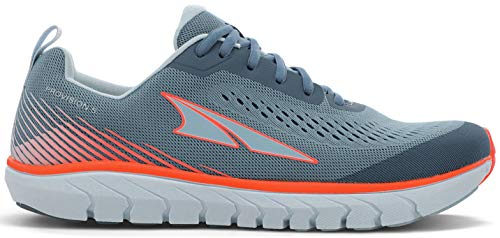 ALTRA Women's AL0A4VRC Provision 5 Road Running Shoe, Gray/Coral - 9.5 M US