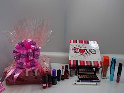 Rimmel London - Caja de regalo para maquillaje, 12 piezas, set de regalo especial de San Valentín para ella