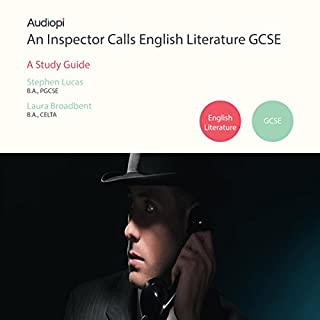 An Inspector Calls GCSE English Literature Guide - An Audiopi Study Guide cover art