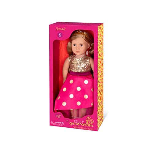 Our Generation - Puppe Sarah Prinzessin 46cm BD31290C1Z Bunt