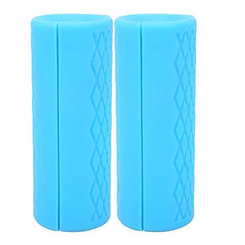 Jeanoko Grips Adapter Sports Protective Gear exquisita mano de obra deportiva protectora deportiva Fitness para la protección deportiva para prevenir lesiones (azul, grande)