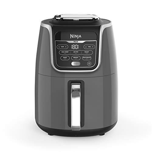 Ninja Air Fryer Max [AF160UK] 5.2 Litres, Grey and Black