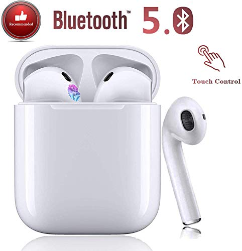Auriculares Bluetooth 5.0 TWS i12 con Sonido Estéreo HD Conexión Eme