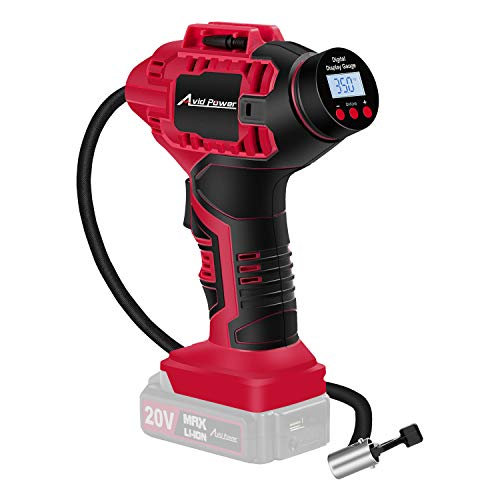 Avid Power Cordless Tire Inflator Air Compressor (Tool Only) -  2