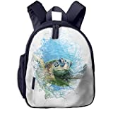ADGBag Zaino per bambini Zaino Cyprus Turtle Save Kids School Backpack School Bookbag Kid Toddler Backpack Backpack For 2-9 Year Old Girl Boy