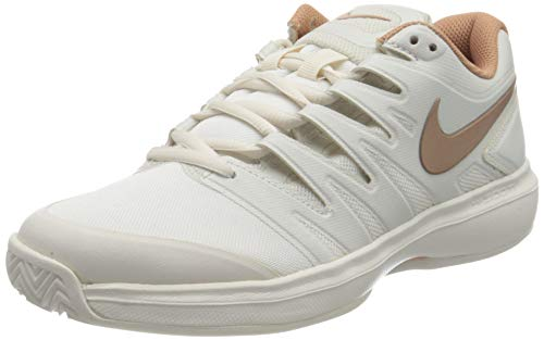 Nike Damen W Air Zoom Prestige Cly Tennisschuhe, Mehrfarbig (Phantom/MTLC Red Bronze 066), 40.5 EU