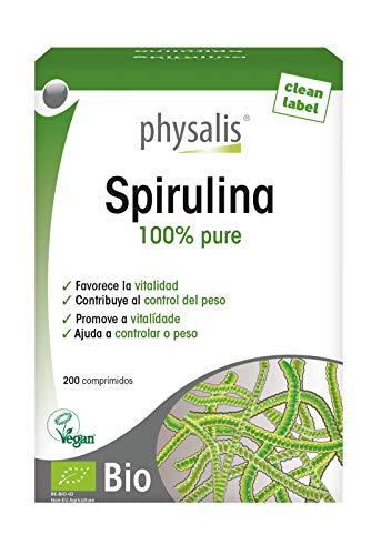 Physalis Spirulina 200 comprimidos Bio