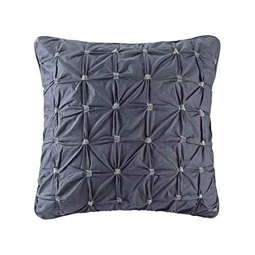 INK+IVY 100% Cotton Euro Sham European Square Decorative Pillow Cover, Hidden Zipper Closure (Cushion NOT Included), 26…