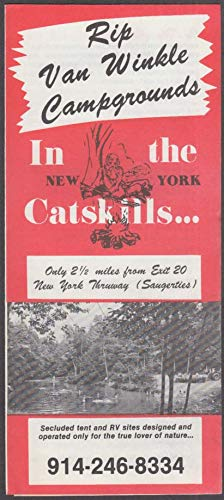 Rip Van Winkle Campgrounds in the Catskills folder Saugerties NY 1970s