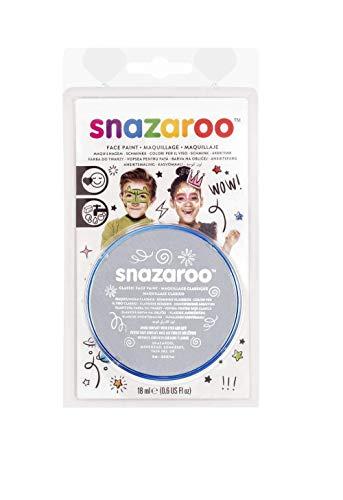 Snazaroo 1119122 Face Paint 18ml-Light Grey