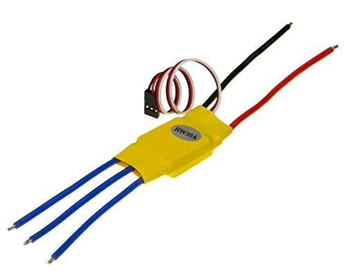 Brushless Regler ESC LiPo 30A BEC 3A Parkflyer 25g Inkl. Kabel
