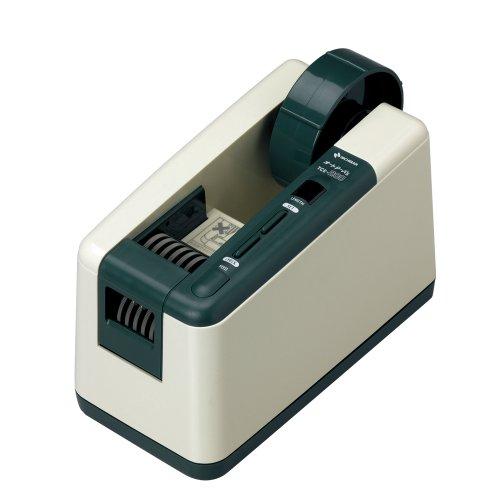 ニチバン 電動テープカッター オートテーパー TCE-200 アイボリー