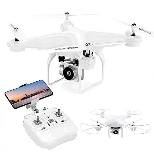 Drone pieghevole con fotocamera per adulti Video in diretta FPV HD, controllo gestuale, selfie, mantenimento dell'altitudine, modalità senza testa, capovolgimenti 3D, quadricottero RC per principian