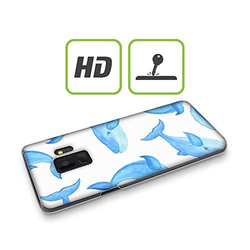 Head Case Designs Offizielle Haroulita Wale Meer Lebewesen Harte Rueckseiten Handyhülle Hülle Huelle kompatibel mit Samsung Galaxy Note9 / Note 9