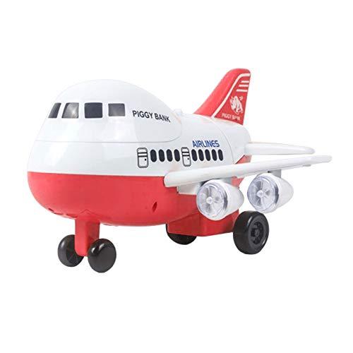 jieGorge Juguete Educativo, máquina de Ahorro de Dinero de avión de Huellas...