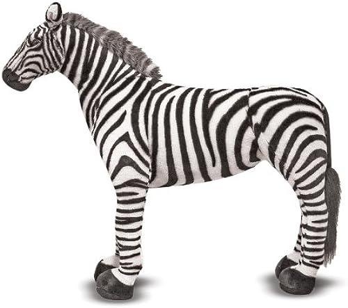 Melissa & Doug Zebra - Plush (Plüsch-Weißhe Spielzeuge)