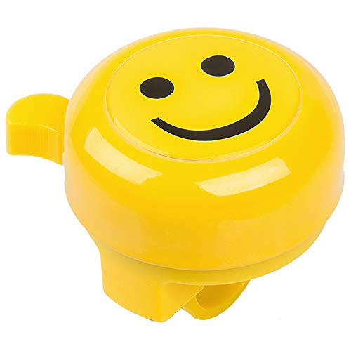 M-Wave Unisex– Babys Bella 3D Kinderfahrradglocke, gelb